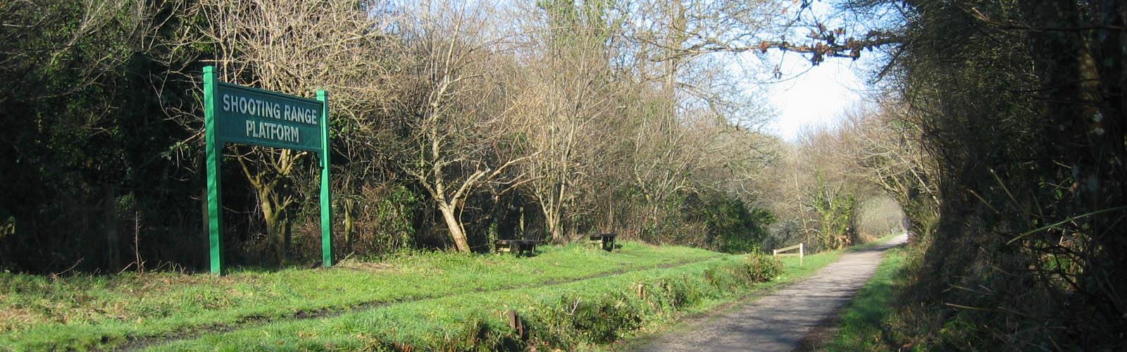 A view along The Camel Trail